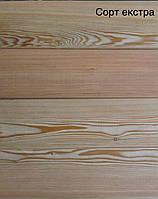 Палубна дошка Модрина Екстра сорт 27х140 мм, фото 1