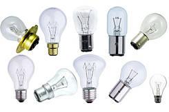 Лампы накаливания железнодорожные Ж, ЖГ, ЖС, ЖТ