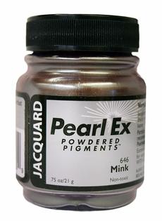 Пигменты высококачественные Перлекс Pearl Ex Перлекс(США) имитация металла,шоколад хамелеон 646, заводская уп.