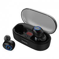 Беспроводные Bluetooth наушники с микрофоном Hoco ES24 Черный (K0169)
