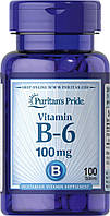 Vitamin B-6 (Pyridoxine Hydrochloride) 100 mg100 Tablets