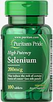 Selenium 200 mcg100 Tablets, фото 1