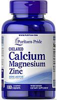 Chelated Calcium Magnesium Zinc100 Caplets