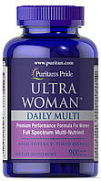 Ultra Woman™ Daily Multi Timed Release90 Caplets, фото 1