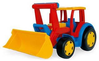 Трактор каталка с ковшом  Гигант  66000