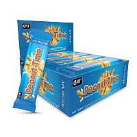 QNT_Peanut Time Bar 60 г - Caramel Peanut
