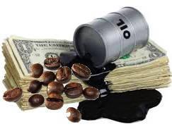Следом за нефтью падают мировые цены на кофе