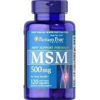 PsP MSM 500 mg - 120 кап, фото 1