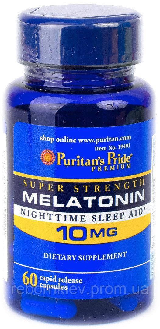 PsP Melatonin 10 mg Trial Size - 30 кап