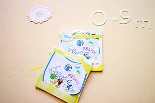 Одяг для дівчаток 0-2 BRUMS Італія 131BBLX002 білий з блакитним