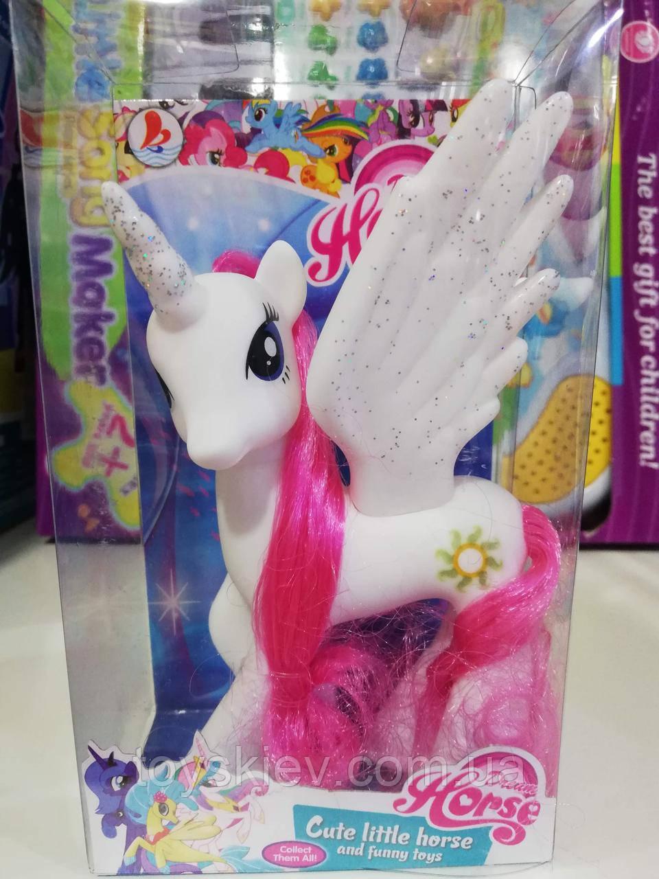 "Фигурка ""My Little Pony"" май литл пони (белая) аналог"