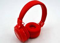 Беспроводные Bluetooth наушники с микрофоном JBL T100BT Красный (K0191)