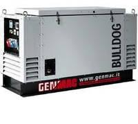 Дизельная трёхфазная электростанция GENMAC Bulldog в капоте