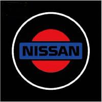Дверной логотип LED LOGO 070 NISSAN (100)в уп. 100шт.