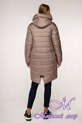 Зимняя теплая куртка женская (р. 44-58) арт. 1148 Тон 100, фото 2
