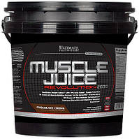 Гейнер UltN MUSCLE JUICE 2600 Revolution, 5,04 кг - vanilla
