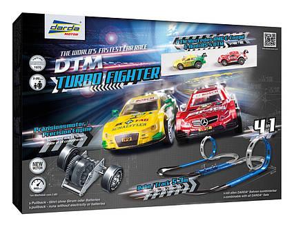 Набір систем автомобільних гоночних трас Darda Racecourse DTM Turbo Fighter
