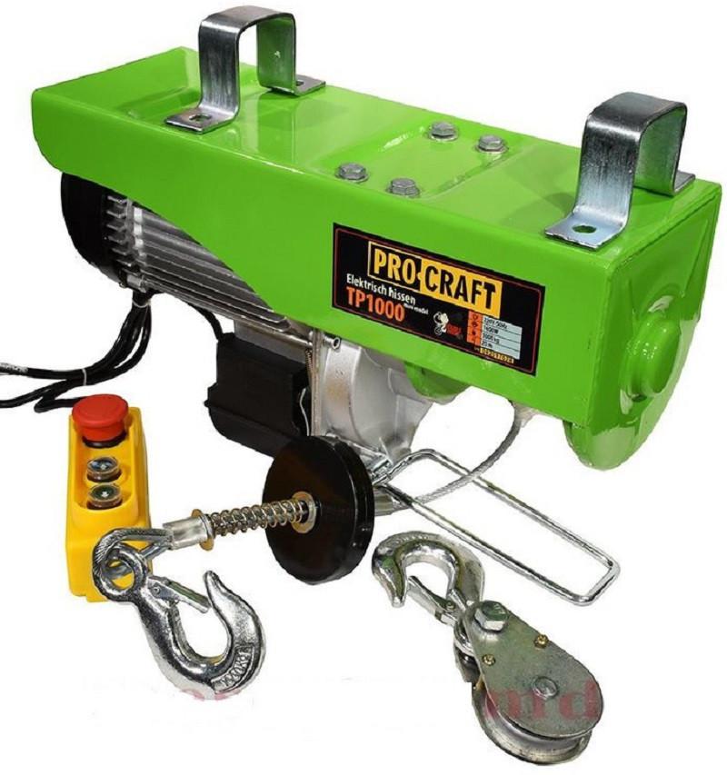 Подъемник (тельфер) Procraft TP-1000