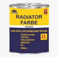 Эмаль для отопительных приборов TOTUS Radiator Farbe Standard