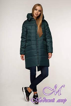 Женская качественная зимняя куртка (р. 44-58) арт. 1148 Тон 821, фото 2