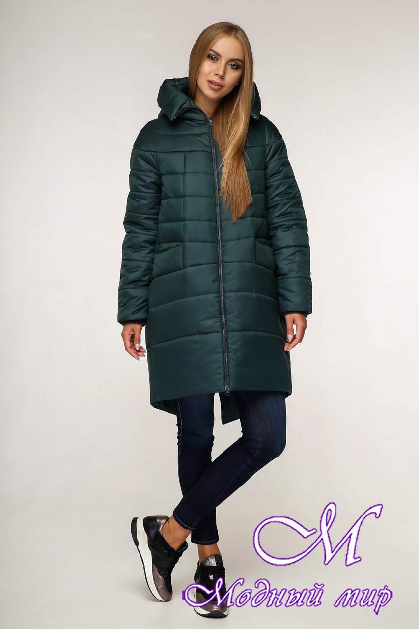 Женская качественная зимняя куртка (р. 44-58) арт. 1148 Тон 821