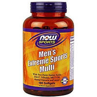 NOW_Витамины Men's Extreme Sports Multi - 180 софт кап