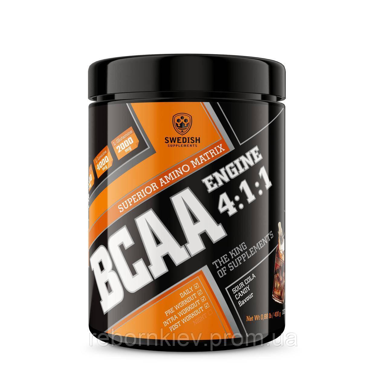Swedish supplements - BCAA - 400g bubbelgum candy