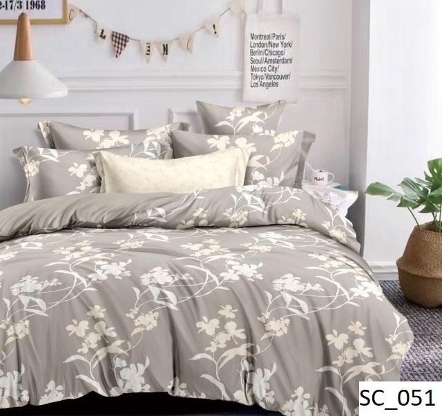 Полуторное постельное бельё (сатин)