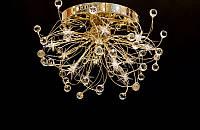 Люстра галогенная со светодиодной подсветкой , пультом 9282-12