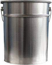 Эмаль жидкий пластик для металла Синяя 18 кг