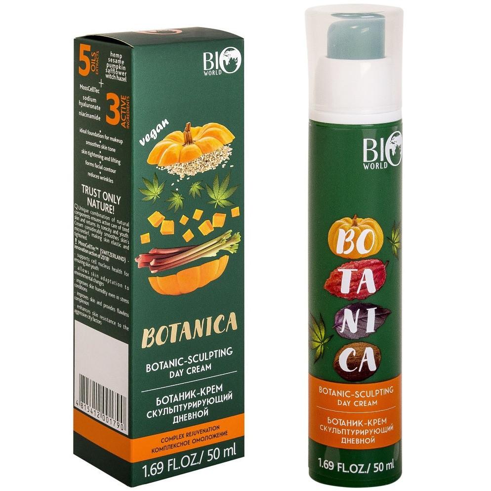 Крем для лица дневной уход за уставшей кожей BIO World Botanica (скульптурирующий) 50 мл