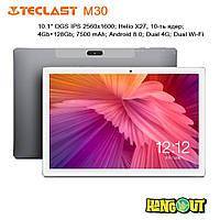 Планшет Teclast M30 4G Tablet PC, 4Gb+128Gb