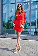 Женский костюм с юбкой в 3х цветах JD  Зарина, фото 1