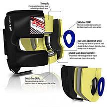 Боксерский шлем тренировочный RDX с бампером M, фото 3
