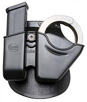 Подсумок для одного двухрядного магазина 9mm/.357/.40/.45 и наручников