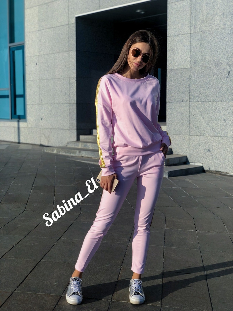 """Костюм ТМ """"Sabina El"""", джерси Размер: 42, 44, 46, 48. Цвета разные (1168)"""
