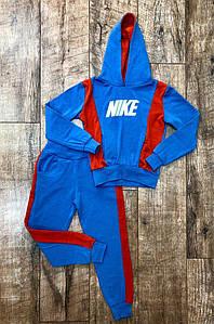 Спорт костюм детский на флисе голубой ACG 22