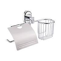 GF Italy (CRM)/S- 2903-1 держатель туалетной бумаги с крышкой и освежителя