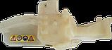 Бак топливный бензопилы Мотор Сич с корпусом, фото 2