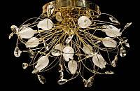 Люстра галогенная со светодиодной подсветкой , пультом 9291-12