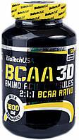 Аминокислоты BT BCAA 3D - 180 капс