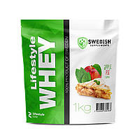 Swedish supplements - LS Whey Protein - 1kg Apple Ple