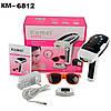 Эпилятор свето фото лазерный Original size KEMEI KM6812-QS7 для лича и тела с технологией IPL+Повер Банк - Фото