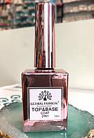 Top Base основа и финиш для гель лака 2 в 1 Global Fashion (15 мл.), фото 1