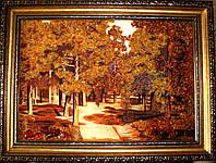 Картина из янтаря Пейзаж 22