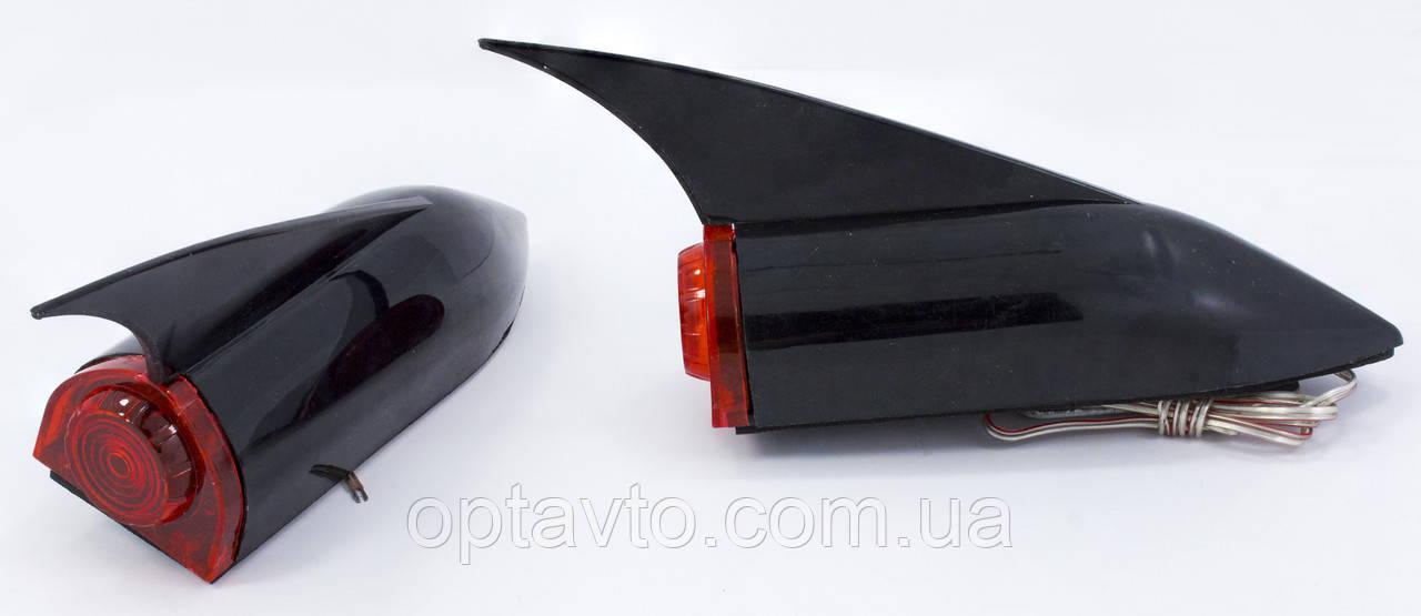 Додаткові стопи у вигляді плавця, кріпляться на кришку багажника (для седана)