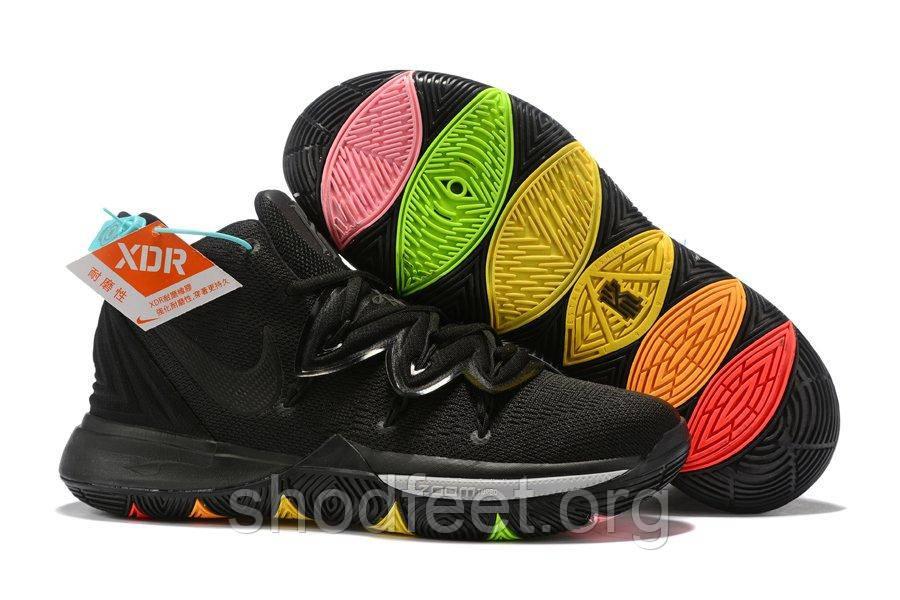 Мужские баскетбольные кроссовки Nike Kyrie 5 Rainbow Soles