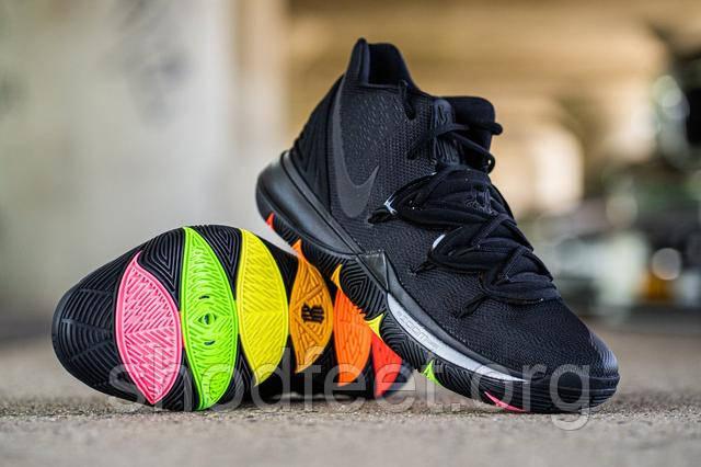Nike Kyrie 5 With Rainbow Soles AO2918-001
