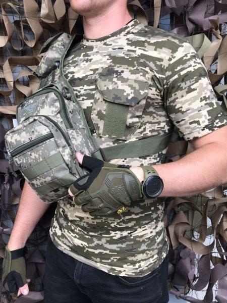 Сумка плечевая/ военная сумка ARMY UA (611)