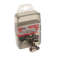 Intertool VT-0025 Комплект отверточных насадок с ограничителем PH2*25 мм уп., 10шт.